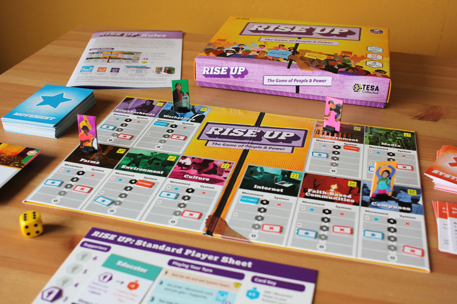 Civic Board Games - designed by Molly McLeod