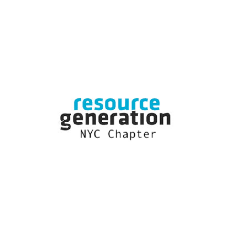 Resource Generation NYC