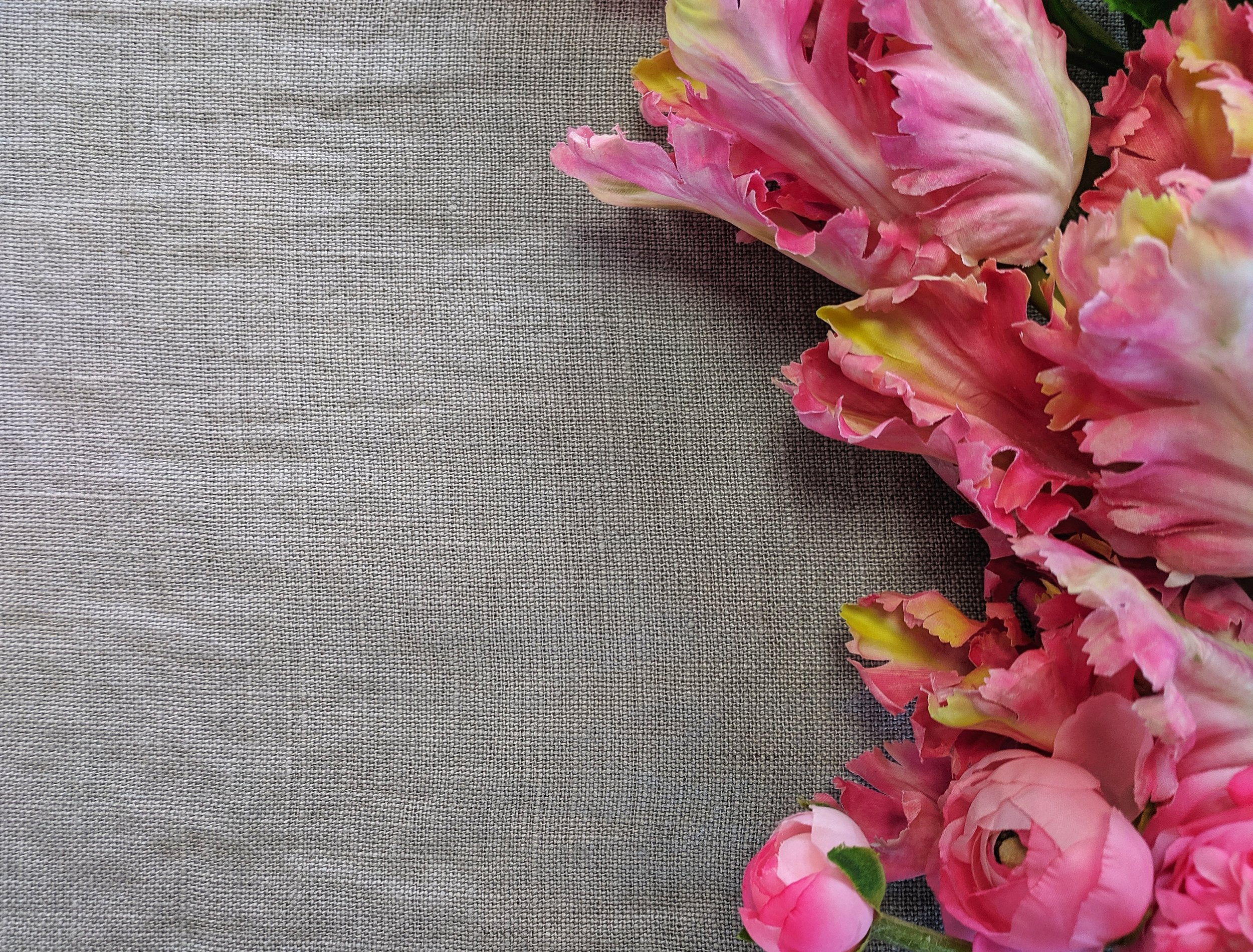 Dempsey Grey, Super Throw - The Dempsey Super Throw is100% solid linen, with tasseled edges for texture.$129.00