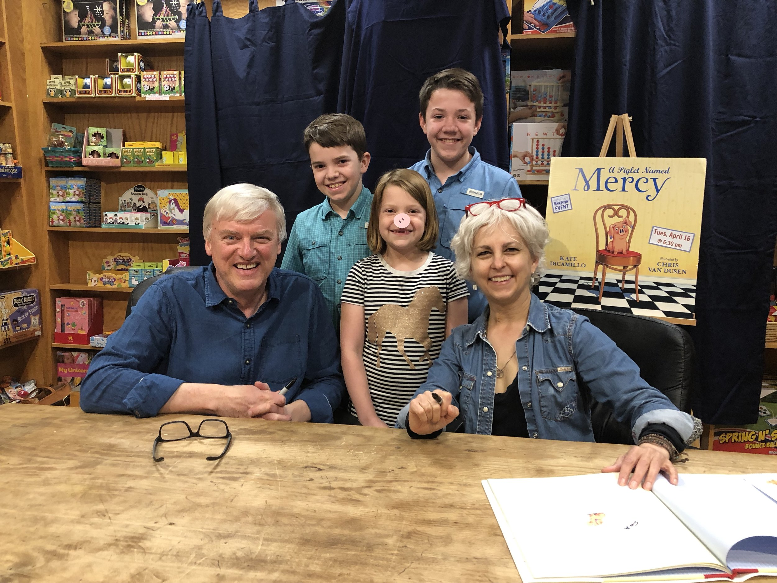 The Wiglets with Kate DiCamillo and Chris Van Dusen