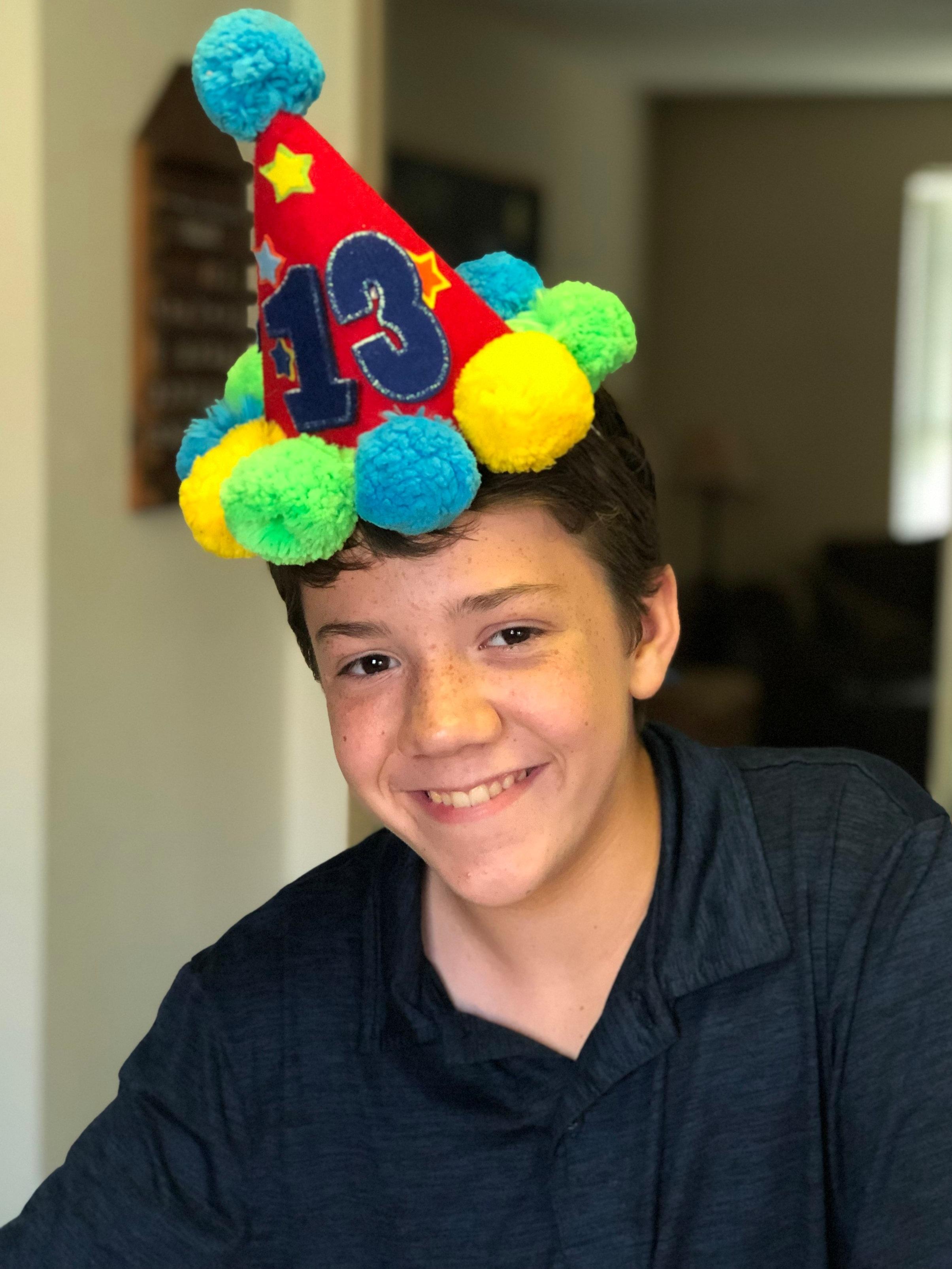 Our Keynan turned 13 this week.