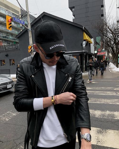 Michael+Biro-Global+Garçon-balenciaga-balenciaga+logo+cap-iro+leather+jacket-saint+laurent+white+sneakers-men's+street+style-globalgarcon.jpg