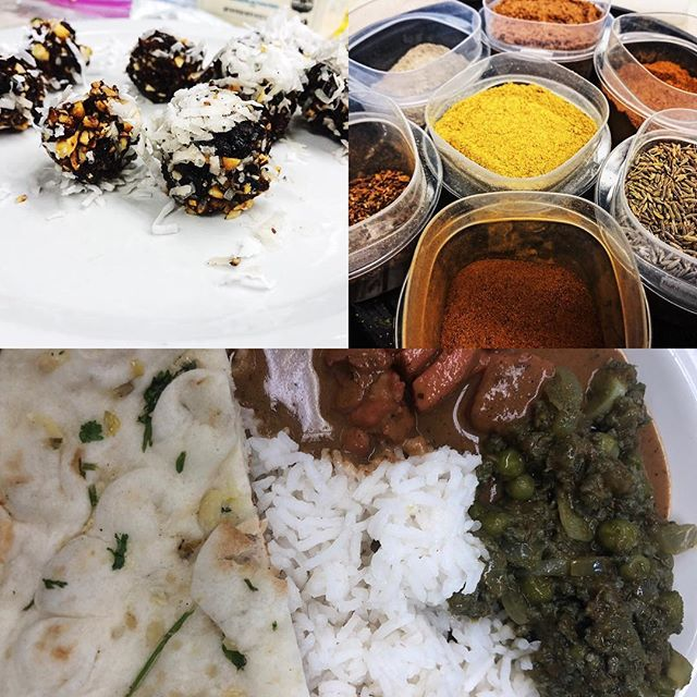 Story in bio link or visit forkinthepines.com. This past Saturday, I attended an #indian #cooking class taught by @cmspiceculture at @atlanticcape in Mays Landing. I learned so much. #indianfood #food #foodie #foodblogger #bonappetit #bonappetit #supportnjlocal #foodgasm #chef #eating #foodporn #yummy #delicious #southjersey #southjerseyfoodie #newjersey #nj #foodstagram