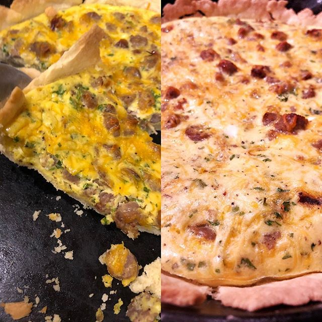 #Quiche night! #cooking #dinner #food #foodblogger