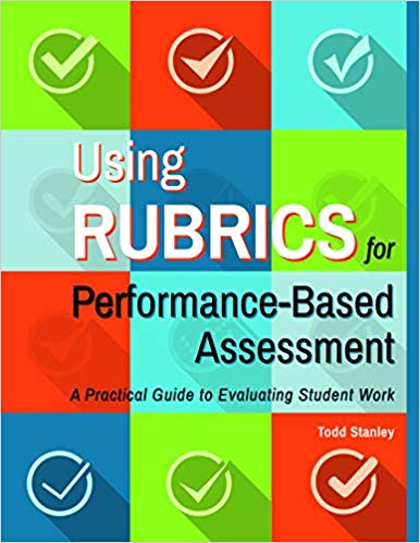 "Using Rubrics for Performance-Based Assessment - Writing a rubric that can accurately evaluate student work can be tricky. Rather than a single right or wrong answer, rubrics leave room for interpretation and thus subjectivity. How does a teacher who wants to use performance-based assessment in this day and age of SMART goals find a way to reliably assess student work? The solution is to write clear rubrics that allow the evaluator to objectively assess the student work. This book will show classroom teachers not only how to create their own objective rubrics, which can be used to evaluate performance assessments, but also how to empower their own students to create rubrics that are tailored to their work.""Todd Stanley has written a practical, thorough guide for creating rubrics to evaluate student work. His instructions are clear and to the point. He provides examples of effective and ineffective rubrics. He shares how to assess hard-to-measure skills such as collaboration, curiosity, initiative, and more. He describes how to write rubrics and how to assess their reliability and validity. He discusses how to use rubrics to grade student performance. Those teaching at any level, including higher education, will benefit from this guide."" - Mitchell R. Alegre, Vine Voice"