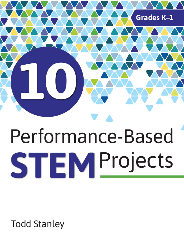 "10 Performance-Based STEM Projects for Grades K-1 - 10 Performance-Based STEM Projects for Grades K-1 provides 10 ready-made projects designed to help students achieve higher levels of thinking and develop 21st-century skills while learning about science, technology, engineering, and math. Some of the projects include:- Art Bot- Crack the Code- Everyone is Playing It""I really like the layout and pacing of this book. I think the materials required to complete the projects are all very reasonable and most teachers would already have them on hand. I will definitely be adapting some of these projects to complete with my PreK students!"" -- Sydney Span, Teacher"