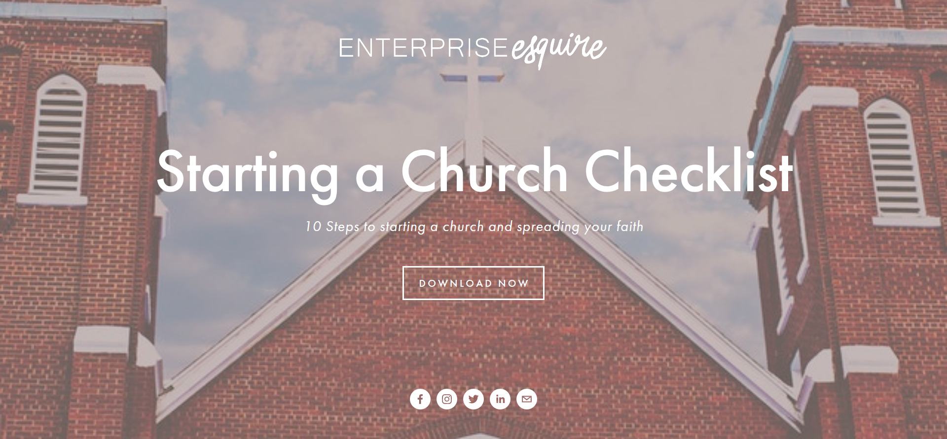 Download Our Starting a Church Checklist