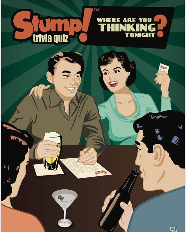 Feelin' shmaht? Come down and test your knowledge at The Lanyard for Stump Trivia, every Tuesday at 7