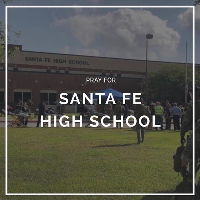 We mourn today for another tragedy.  Friends and family, be sure to reach out to the lives impacted by this horrific event. We have members of Heirborn who were personally affected but survived - praise God. If you know someone in suffering, send them your prayers and show them your love. #prayforSantaFe