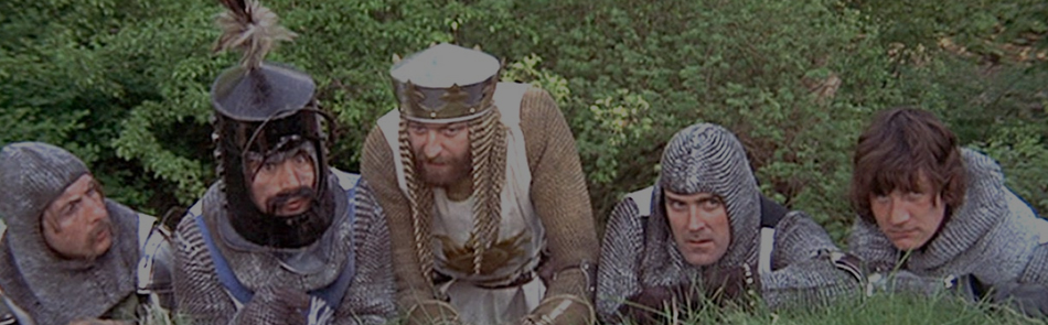 MONTY PYTHON AND THE HOLY GRAIL - 1975 - Cert 12A - 1hr27mins