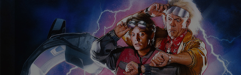 BACK TO THE FUTURE - 1985 - Cert PG - 1hr56mins