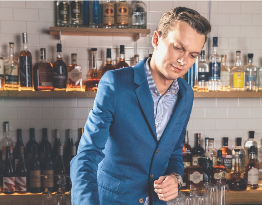 Jonas Anderson - Beverage Manager at Agern and Great Northern Food Hall, both in NYC.