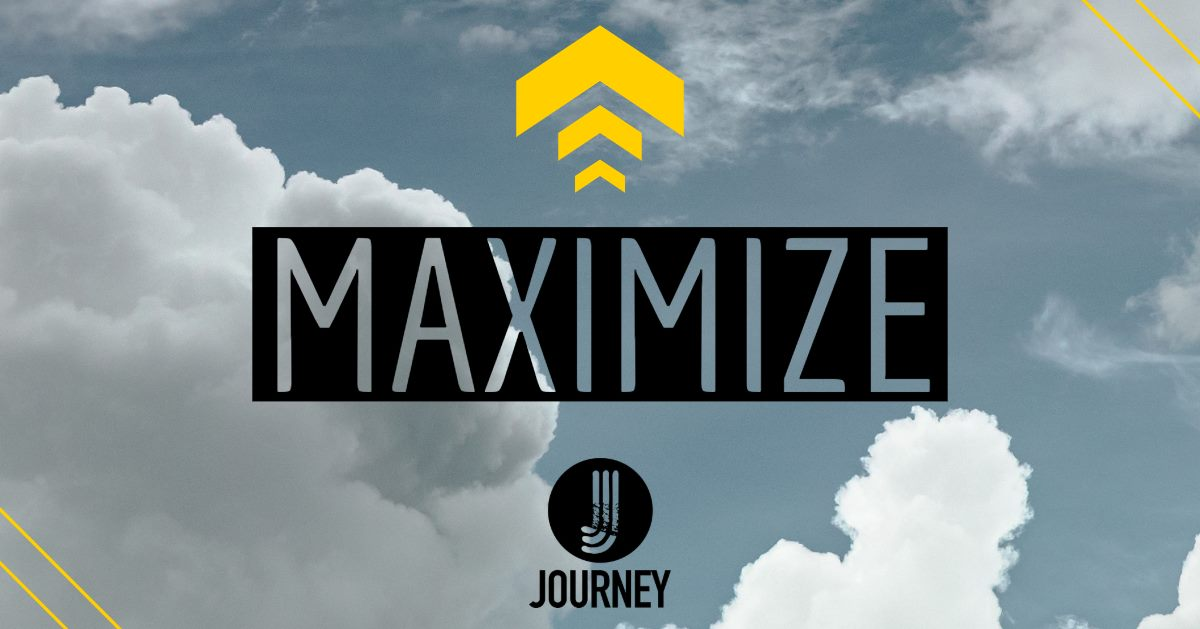 Step 4: Maximize - Maximize is held the fourth Sunday of every month in the Family Room at 12:30.