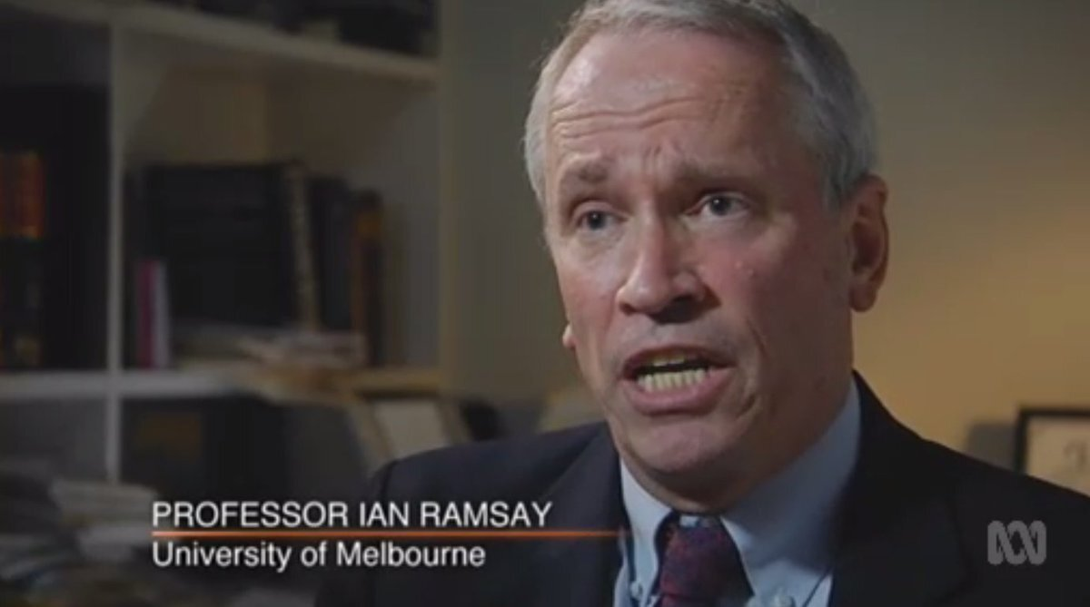 "Professor ian ramsayuniversity of melbourne - ""It would be opt-in but the advantage of having it in our corporations legislation is that it provides certainty for directors, senior executives and key stakeholders that their actions are protected under law and that's important because courts have told us in this country that every company director in Australia has a fundamental duty to act in the best interests of the company and that primarily is the interests of shareholders."""