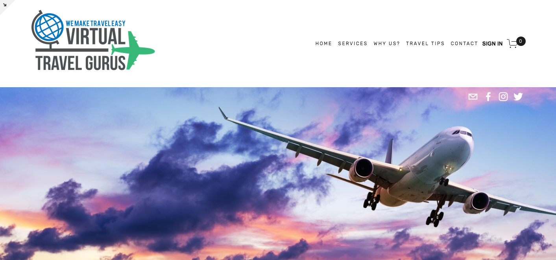 Virtual Travel Gurus - E-Commerce, Monthly Subscription & Marketing Automation