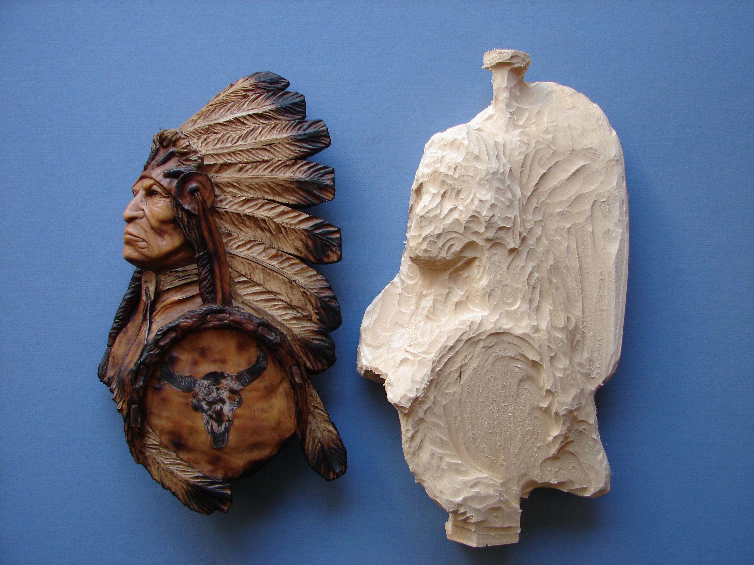 Indian Chief rough out $65.00 each -