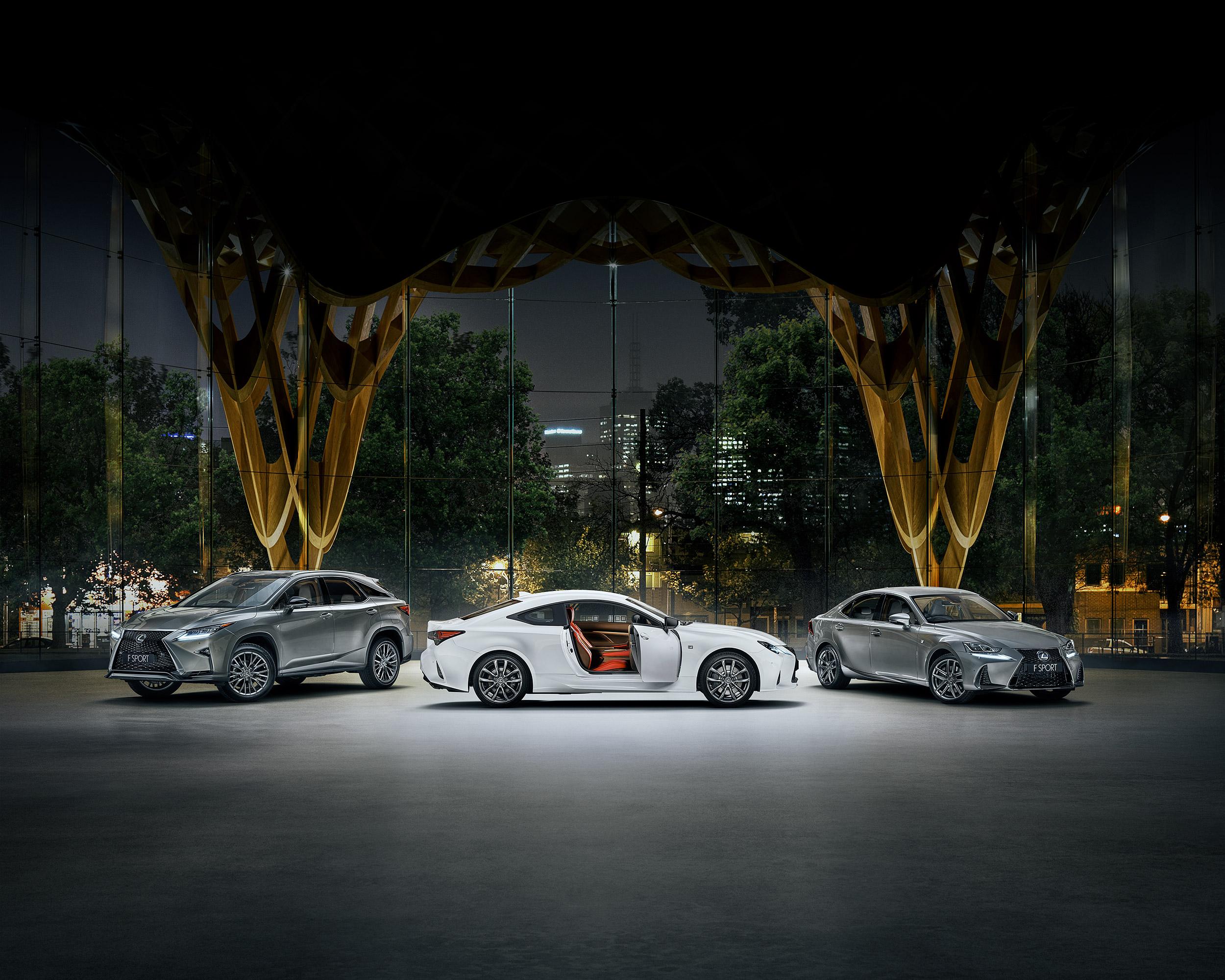 Lexus - 'IT'S F-SPORT TIME'