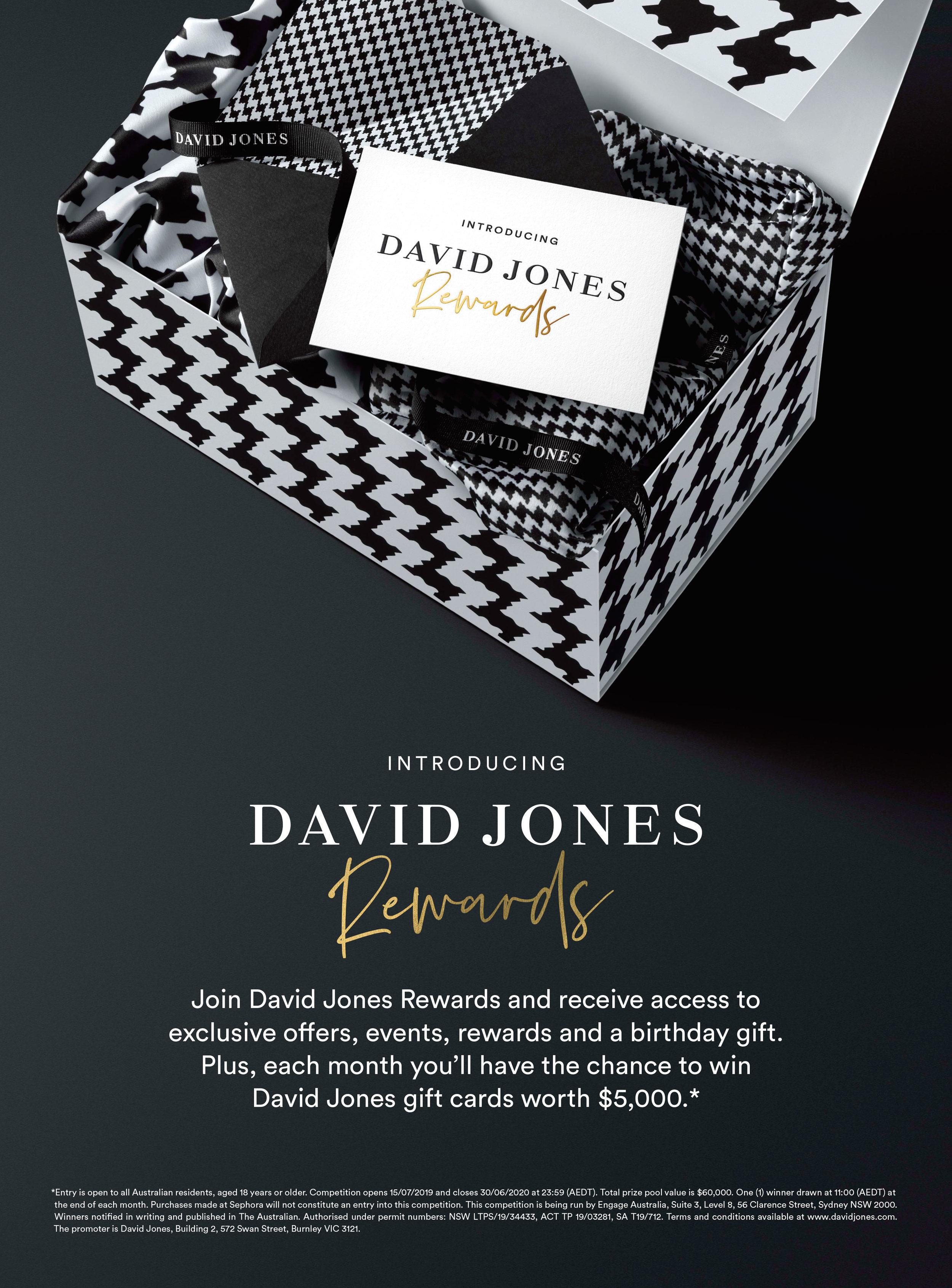 David Jones Rewards