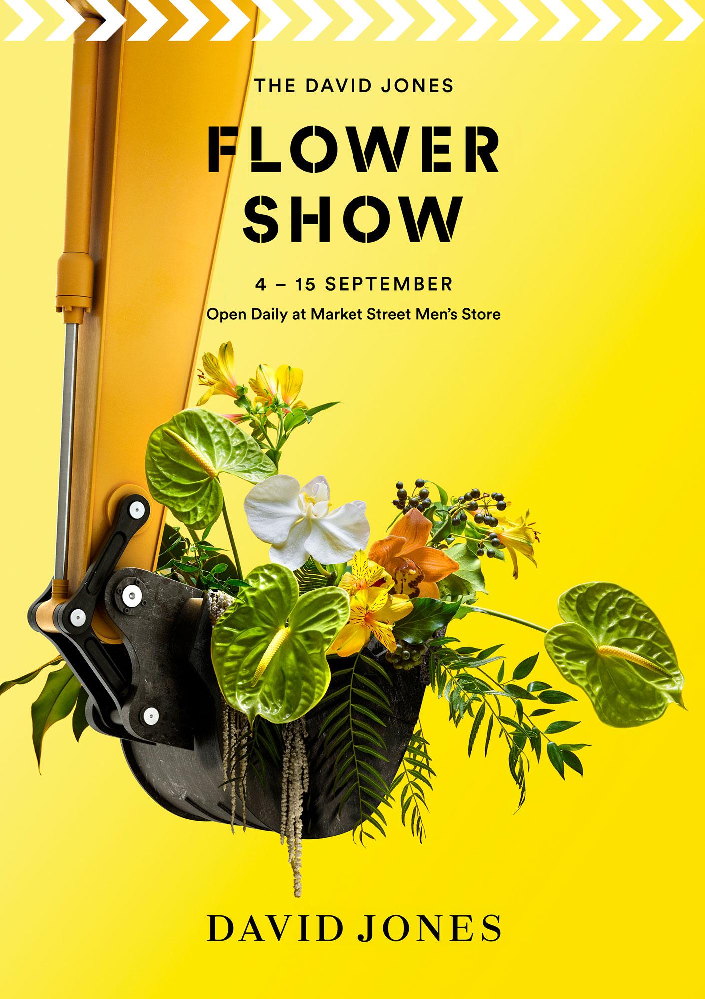 David Jones Flower Show 2019