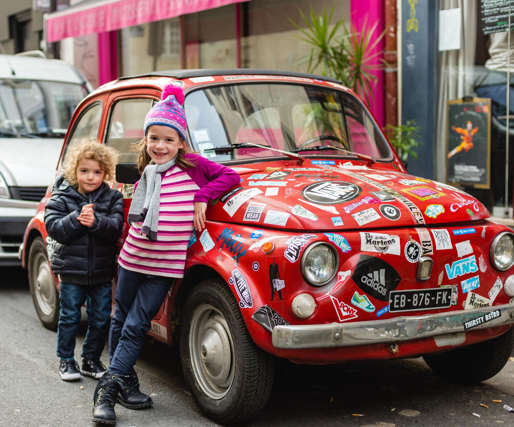 Tiny Italian Car