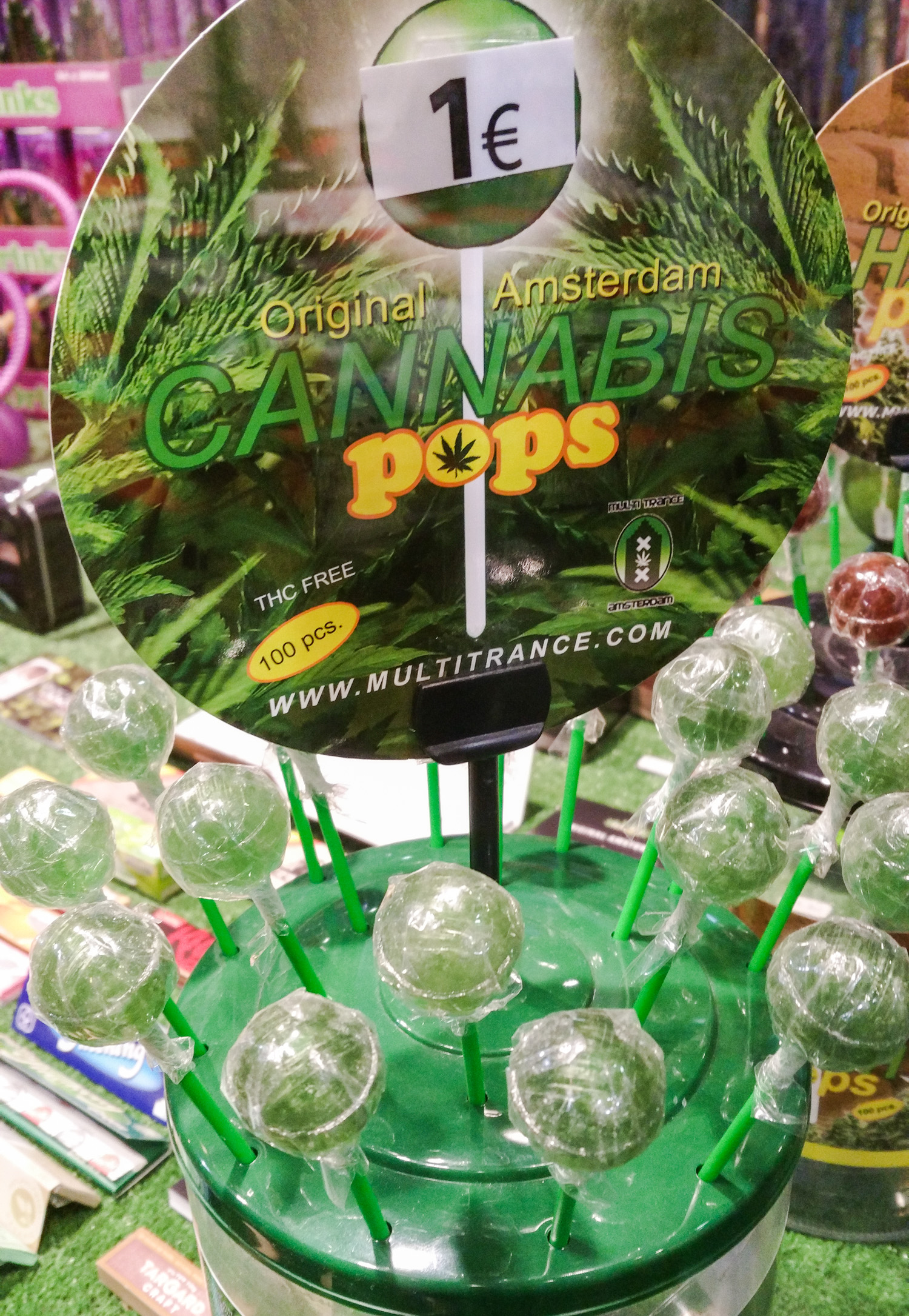 Cannabis Pops in Madrid
