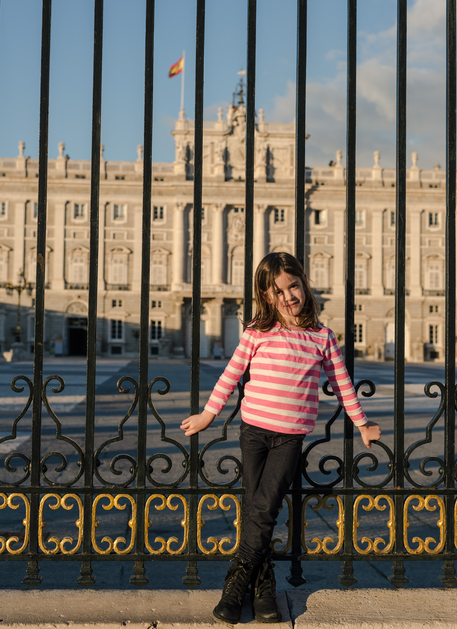 Locked out of the Madrid Royal Palace