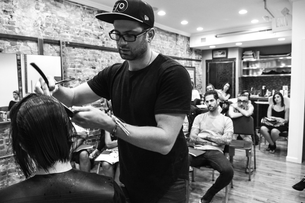 Ben Camagna   Master Cutter at Joseph Anthony's Salon and Spa. Teaches hands on classes at Open Chair Studio and is also a photographer for Open Chair Nights.