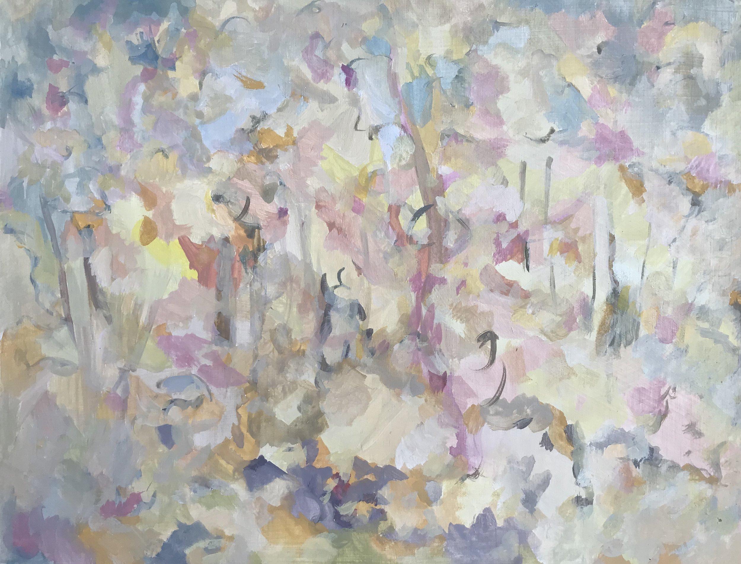 'Summer 1'_30 x 40cm_2018_Lorna Grear_ Courtesy of the artist.