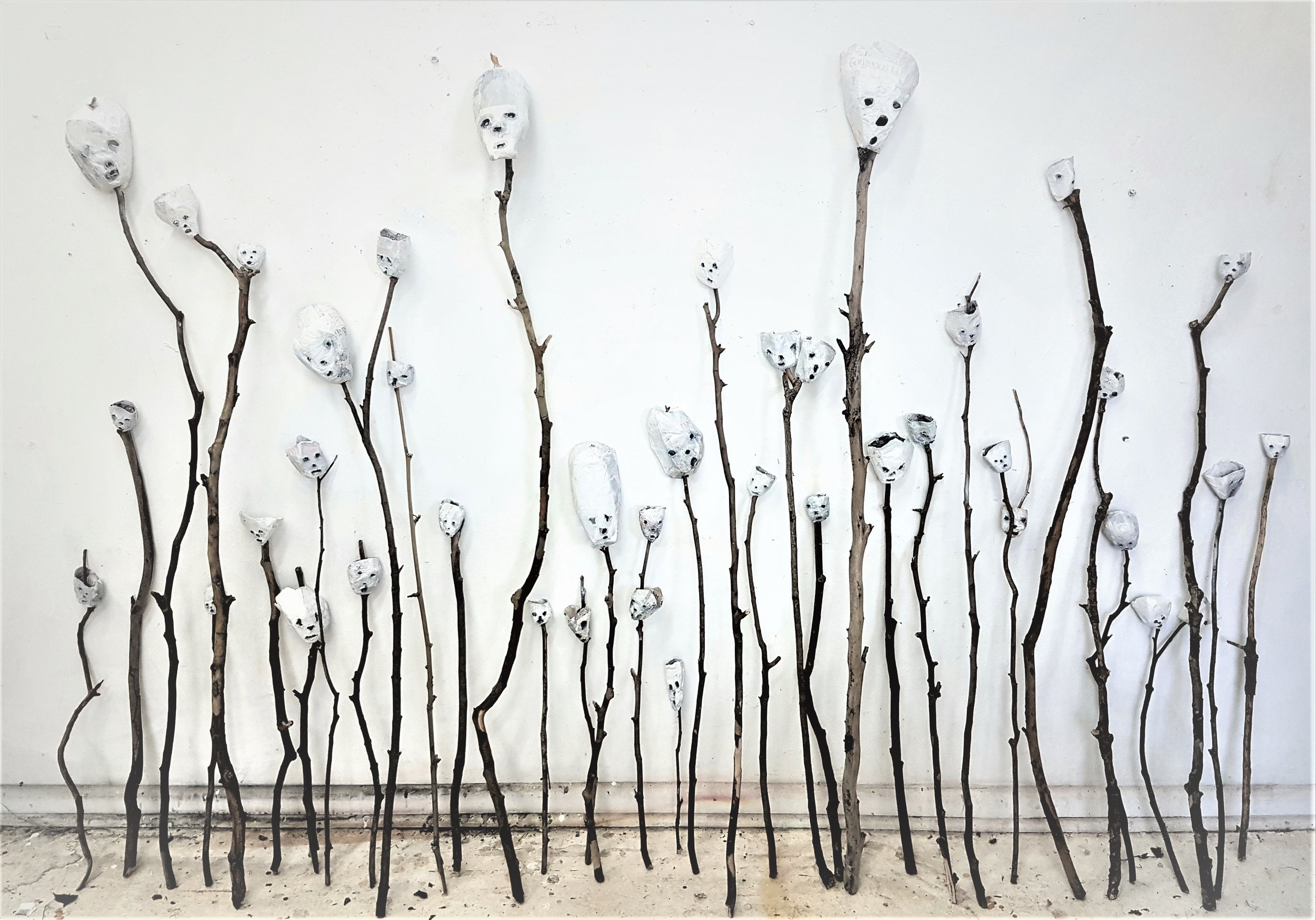 GABRIELLE BATES - Working with the DeadGALLERY TWO