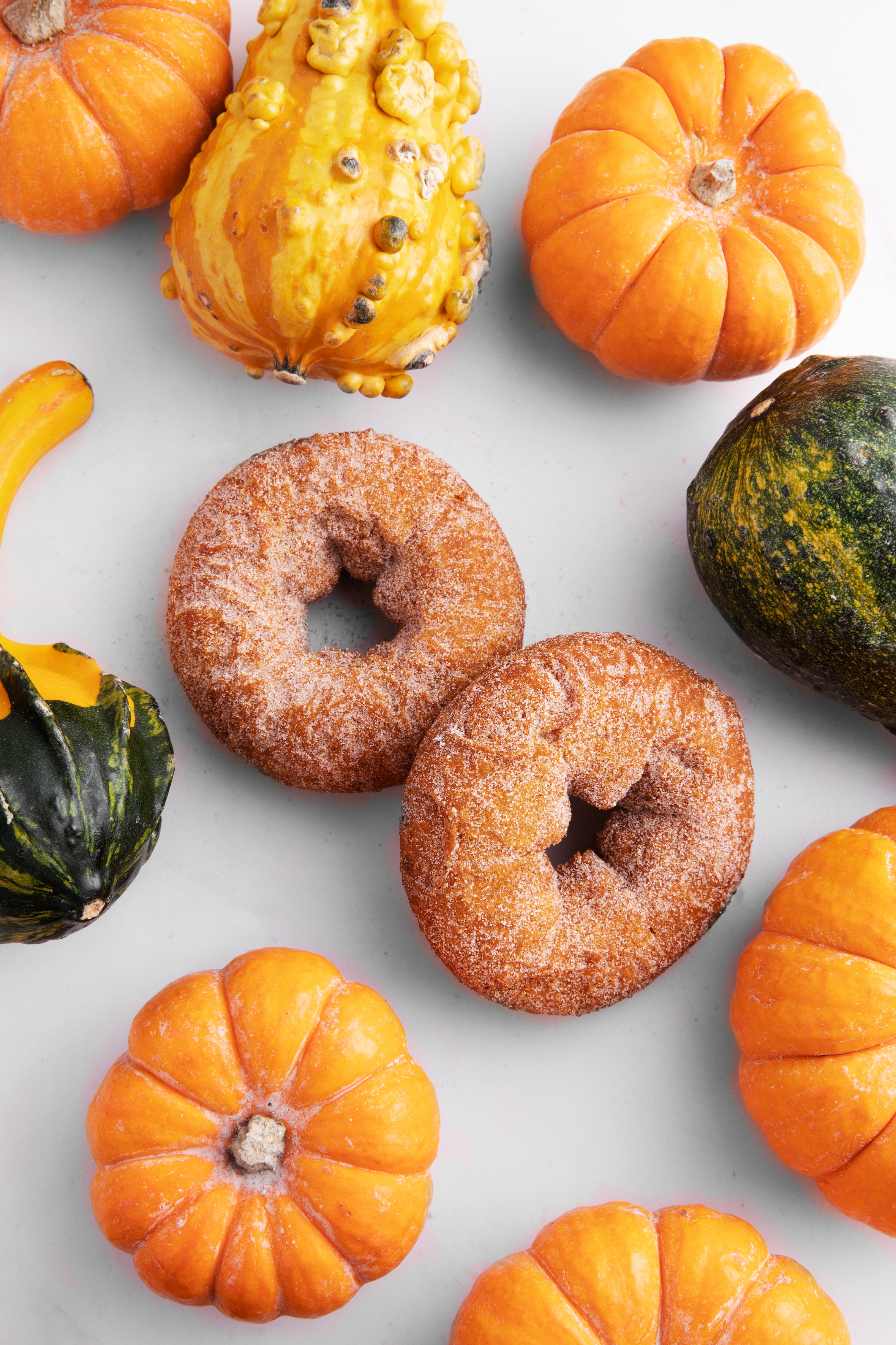 Pumpkin Spice Donuts available now