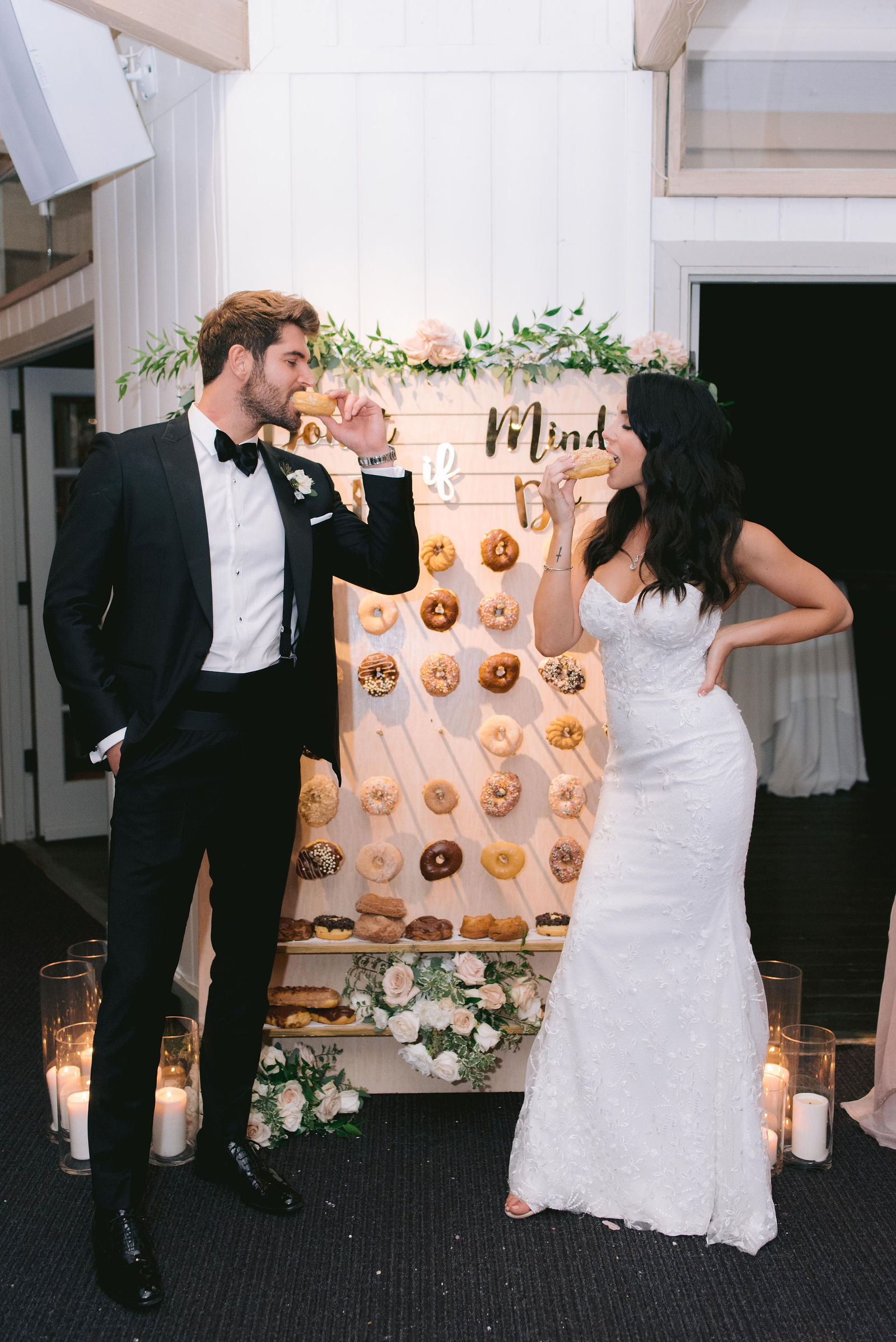 Wedding Donut Wall || Primo's Donuts Los Angeles