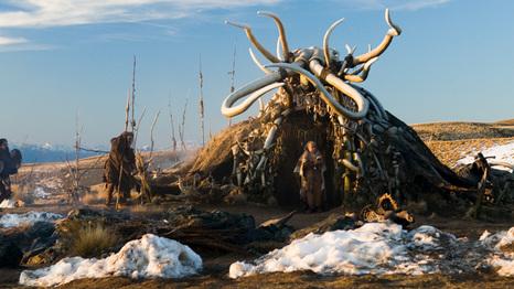 Shaman's hut: 10,000 BC