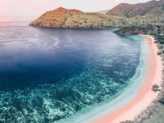Pink Beach -