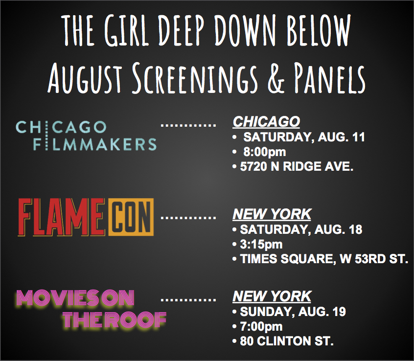 THE FIRST HALF OF OUR AUGUST SCHEDULE IS HERE! - ***************************************