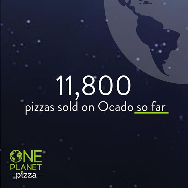 🛒Your online shopping game is strong!   Well, would you take a look at that mind-bending figure right there. 11,800 One Planet Pizzas have been sold on Ocado so far. And we're just getting started!   That's 11,800 Vegan pizzas, to be exact! Which means, we've helped 11,800 non-vegan pizzas stay firmly off the production lines.   So next time you think your weekly order doesn't make that much of a difference, just remember, there's strength in numbers.   👆Grab the 11,801st pizza for yourself. Shop through the link in our bio now!  #Ocado #OnlineShopping #OnlineShop #PizzaDelivery #PizzaOrder #OcadoShop #Pizza #OnePlanetPizza #OPP #VeganPizza #Pizza #PizzaLover #PizzaIsLife #Vegan #PlantBased #VeganFood #Vegans #VeganForTheEnvironment #VeganCheese #Vegan #VeganFoodPorn #Foodie #PizzaTime #PizzaParty #FrozenPizza #Delicious #VeganTreat #TryVegan #plantbaseddiet