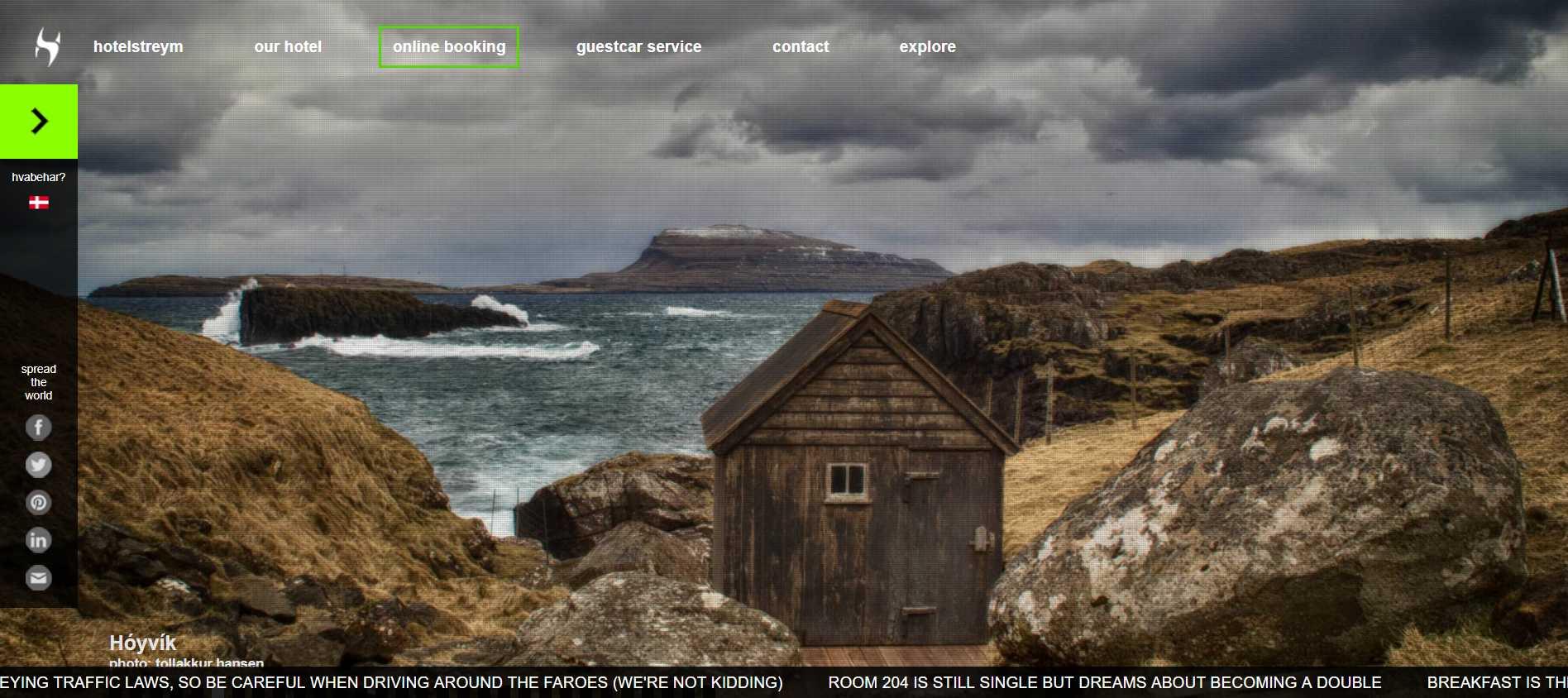 Hotel Streym, Faroe Islands