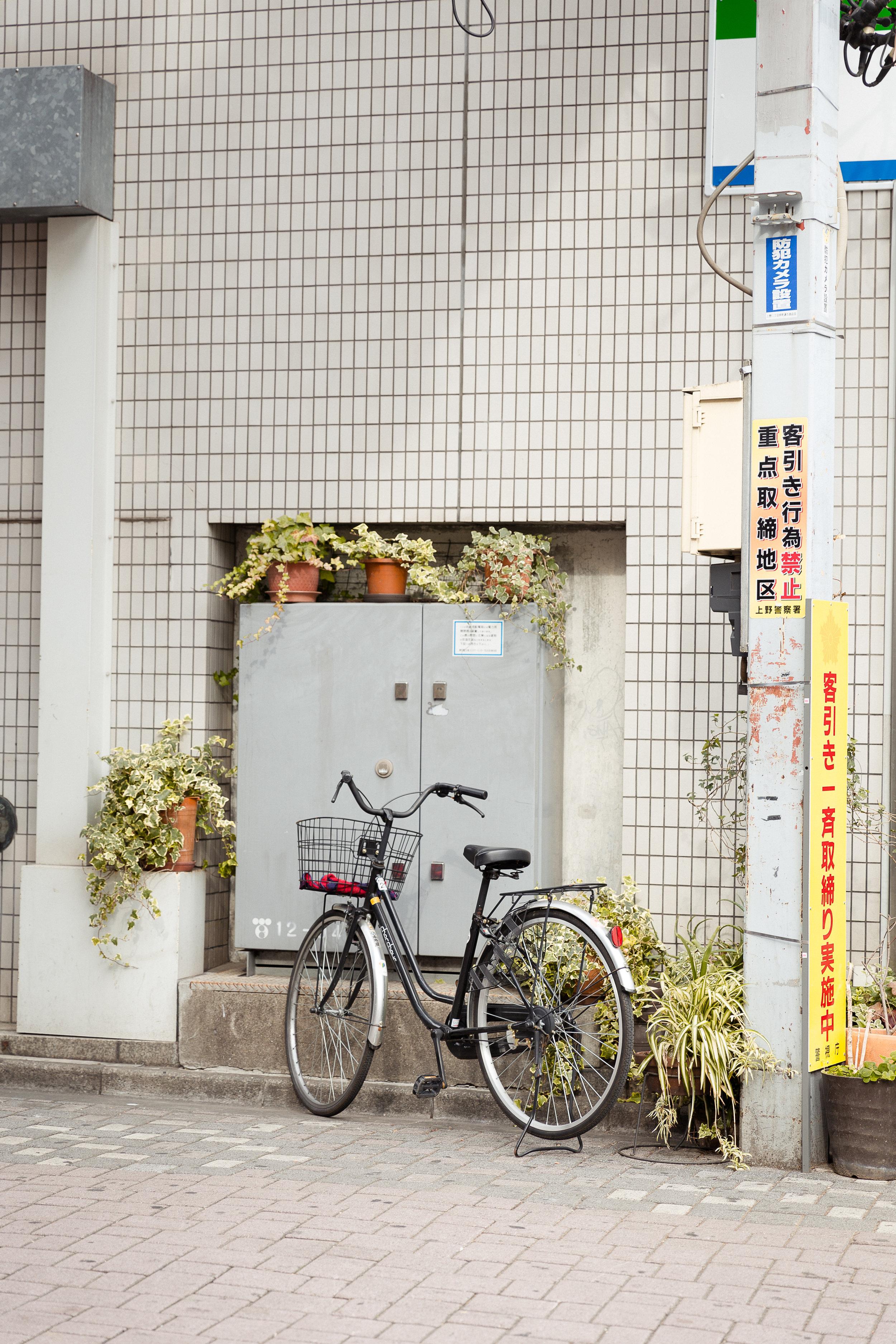 Bike in Tokyo Japan