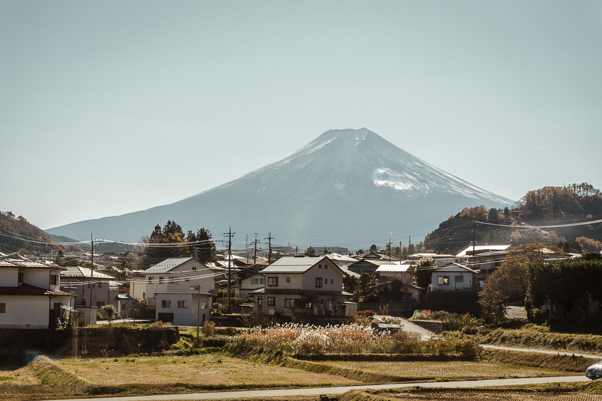 Mount Fuji, Lake Kawaguchiko Japan