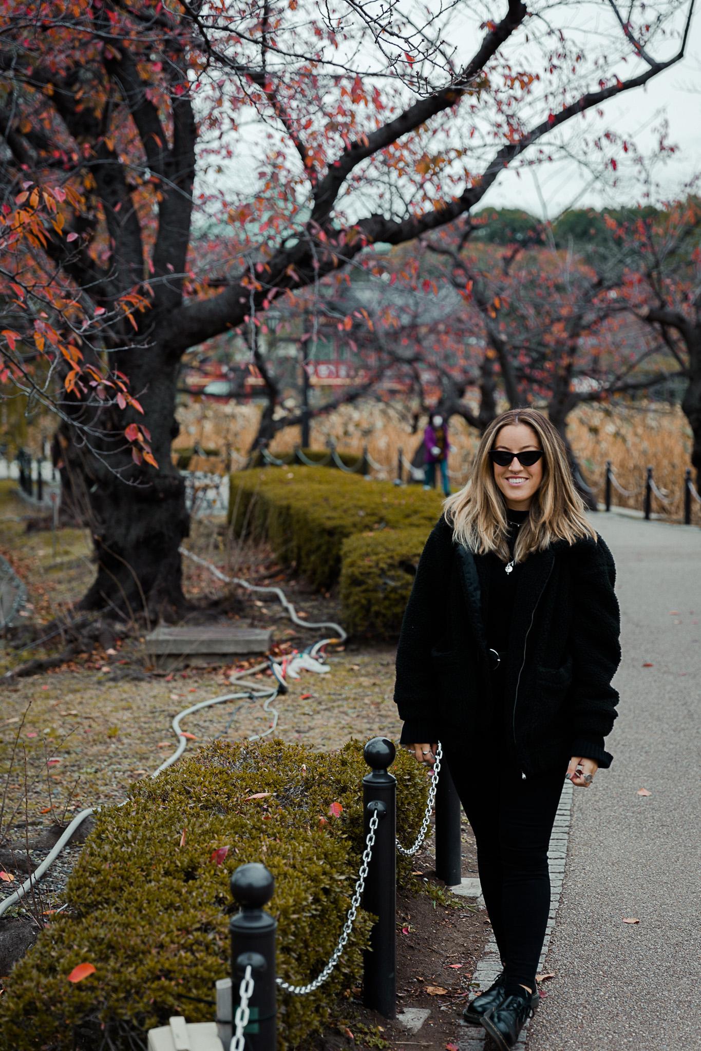 Girl in Ueno Park, Tokyo Japan