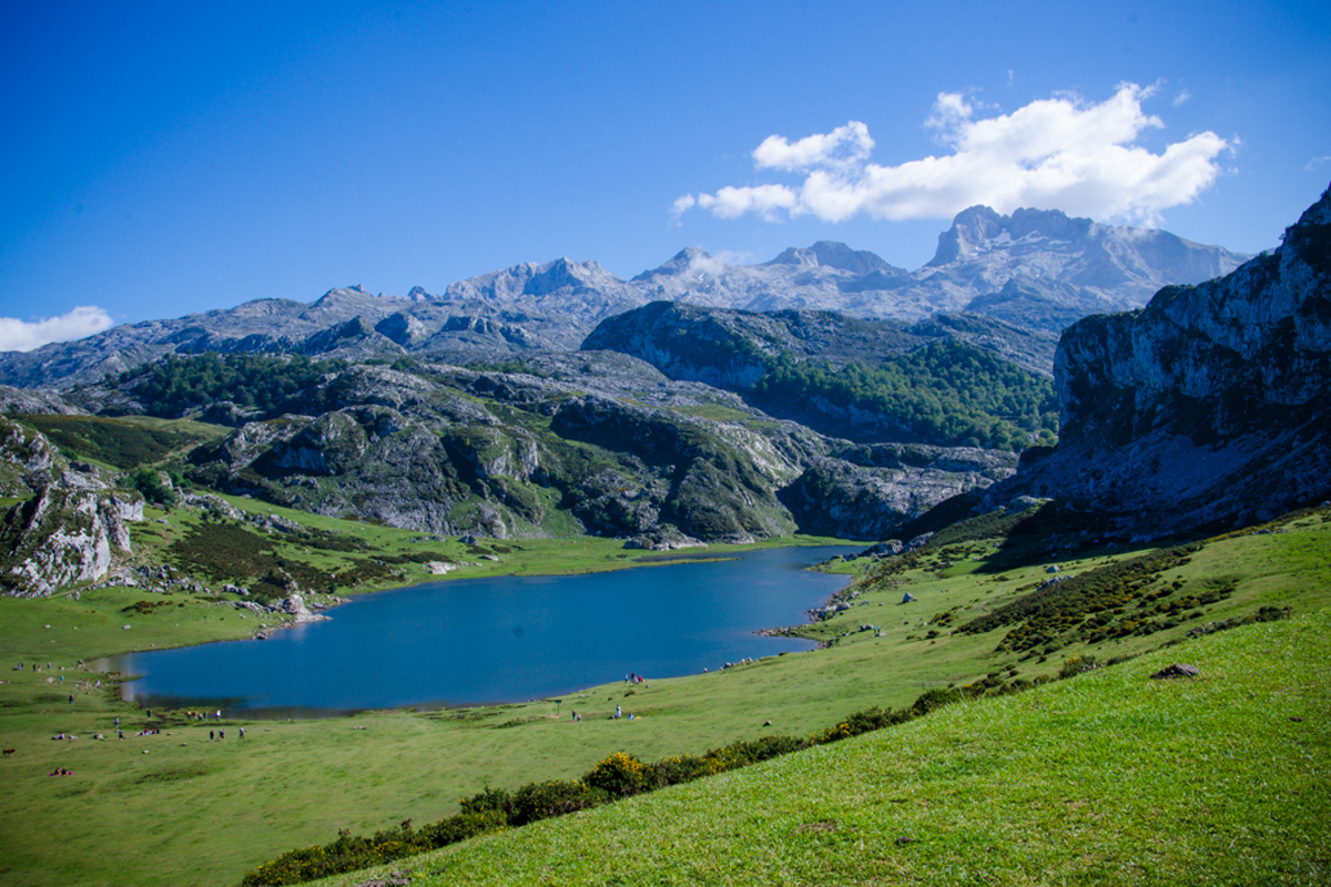 Lago Enol, Picos de Europa.