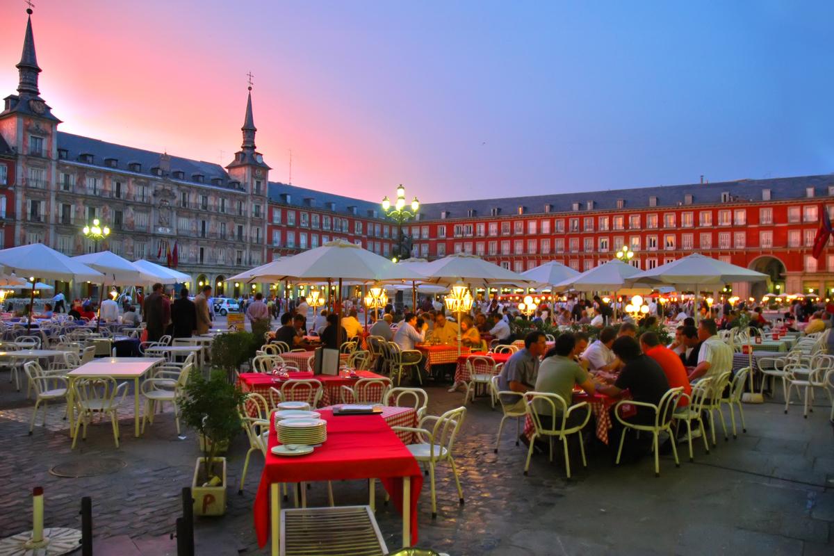 Qué hacer en Madrid - Plaza Mayor.