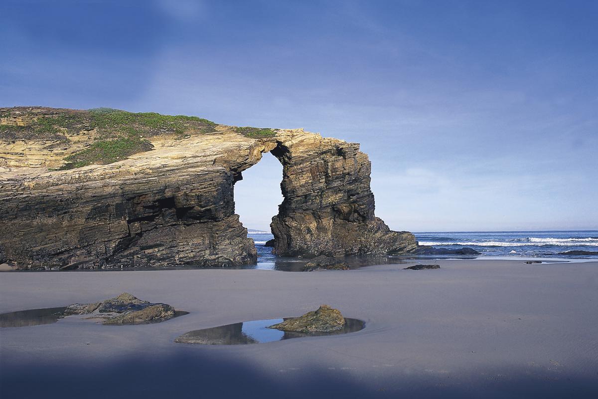 Qué ver en Galicia. Playa As Catedrais, Ribadeo (Lugo).