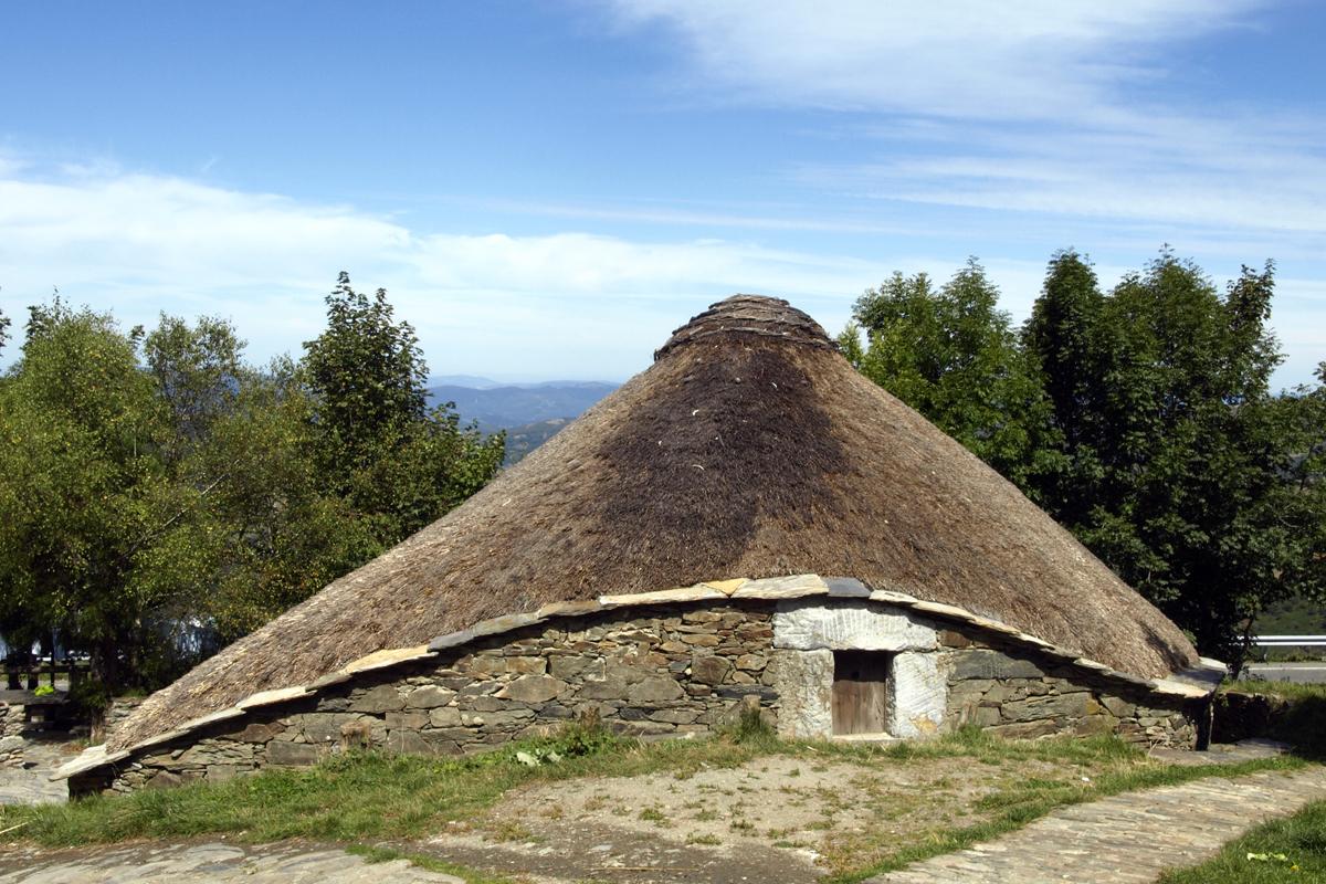 Qué ver en Galicia. Pedrafita do Cebreiro, Lugo.