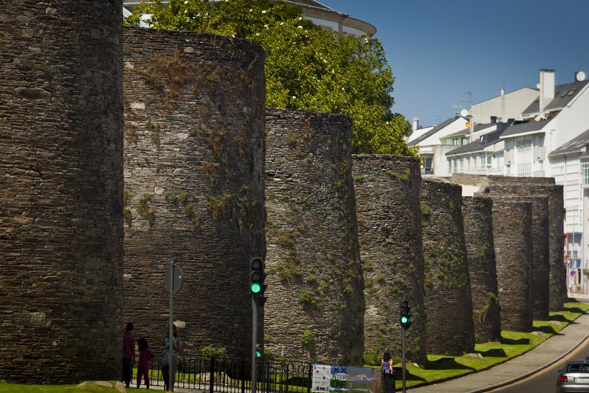 Qué ver en Galicia. Murallas de Lugo.
