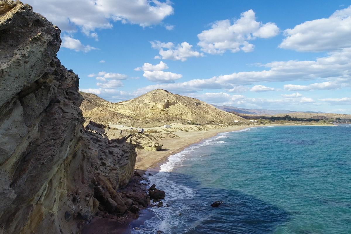 Qué ver en Pulpí. Playa de Calataray.