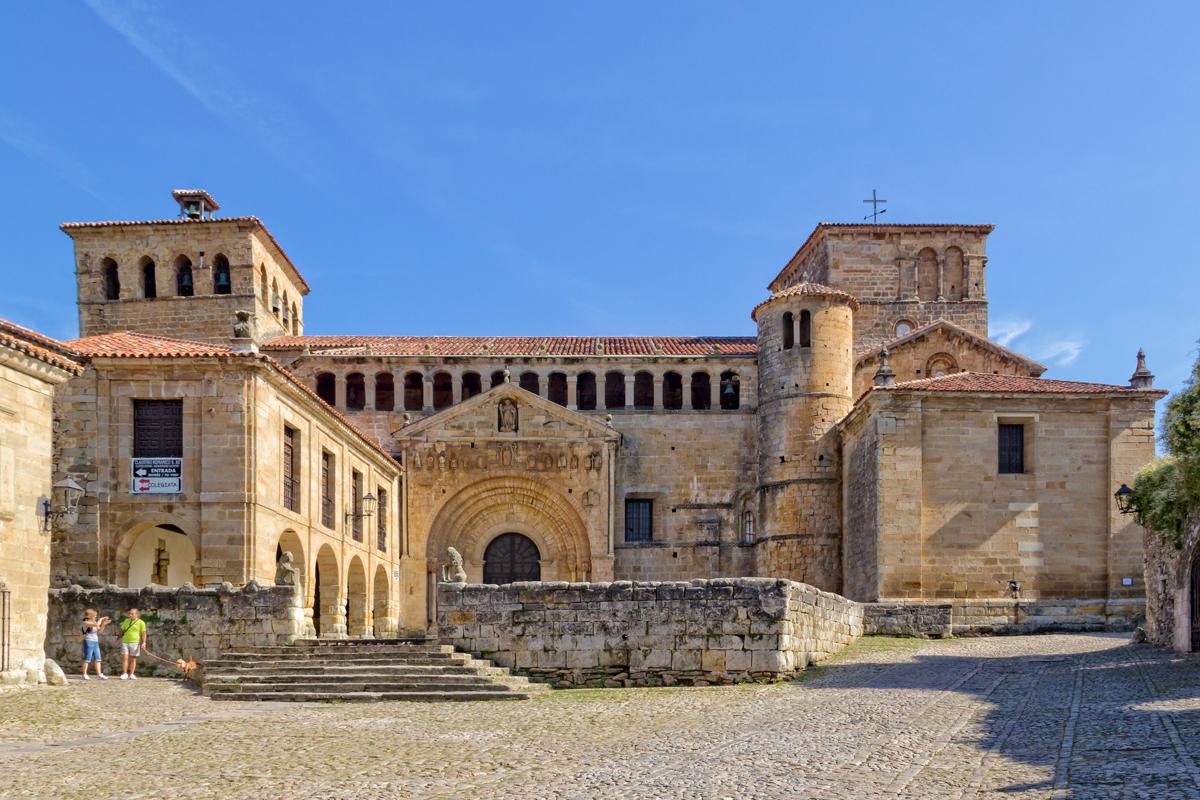 Colegiata de Sta. Juliana, Santillana del Mar (Cantabria)