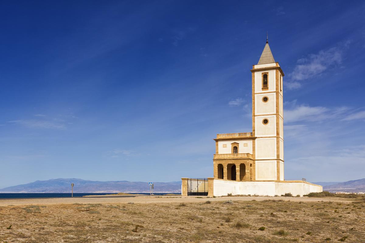 Iglesia de las Salinas. Cabo de Gata (Almería)
