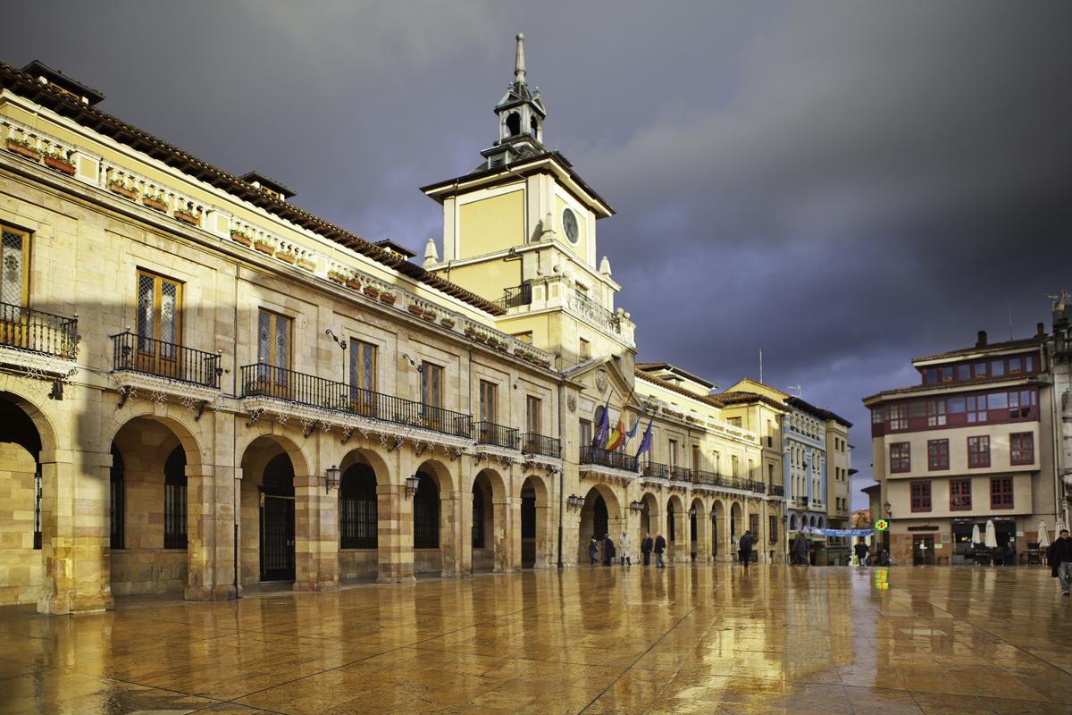Qué ver en Oviedo - Plaza del Ayuntamiento. Foto: Turismo de Asturias - Noé Baranda.