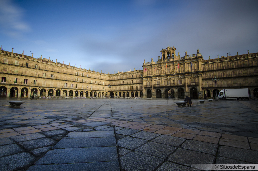 Plaza Mayor de Salamanca.