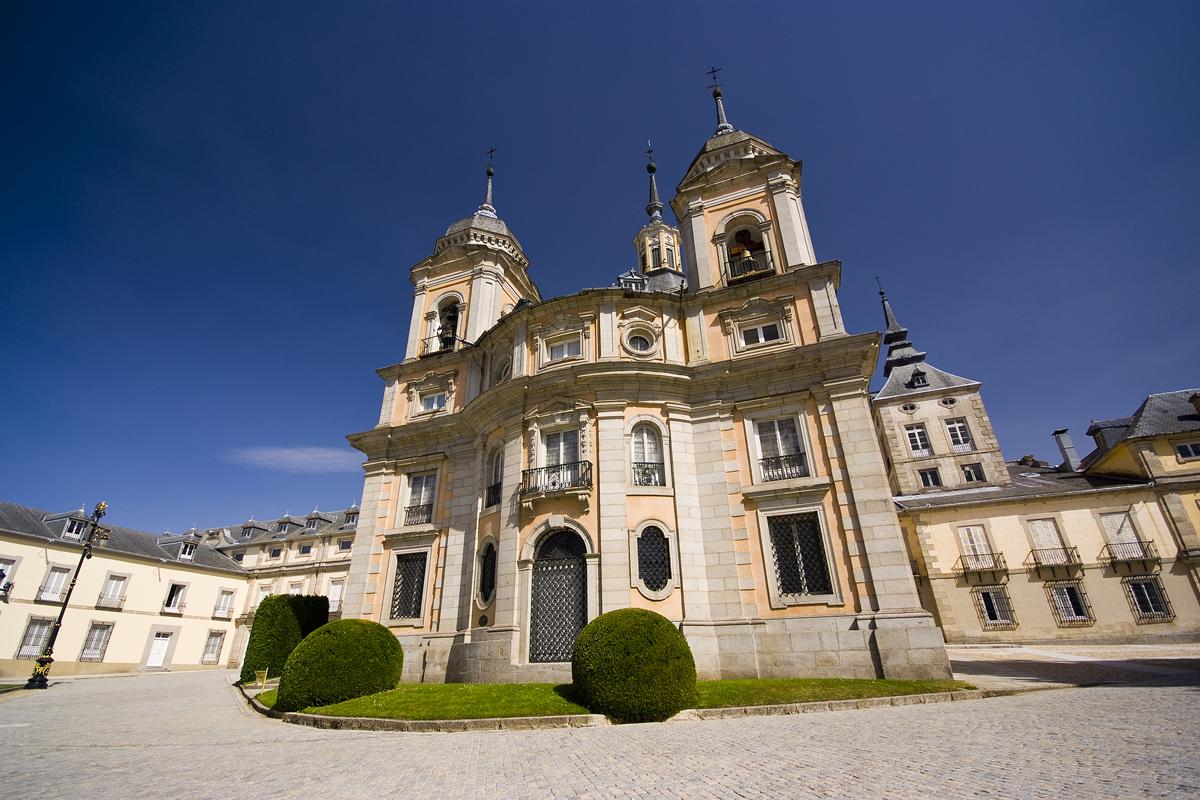 Palacio Real de la Granja de San Ildefonso (Segovia) - Colegiata de la Santísima Trinidad.